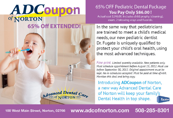 ADCoupon - Pediatric Dentistry