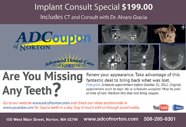 ADCoupon - ZOOM Teeth Whitening - ADC of Norton