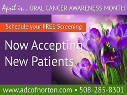 April - Oral Cancer Awareness Month